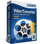Leawo Video Converter - convert videos and audios among all pop formats